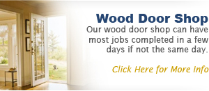 Wood door shop